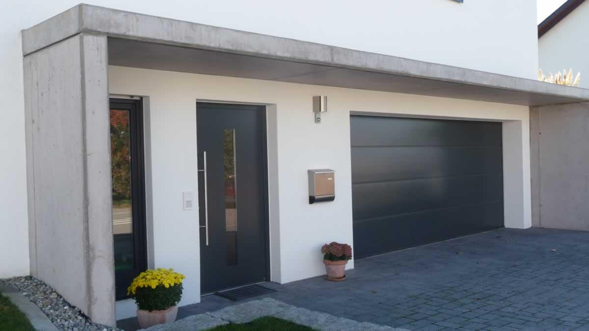 Einfamilienhaus neubau mit doppelgarage  Projekte - Architekt Reutlingen / Mittelstadt - Architekturbüro ...