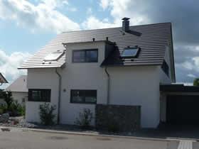 Neubau Einfamilienhaus mit Doppelgarage