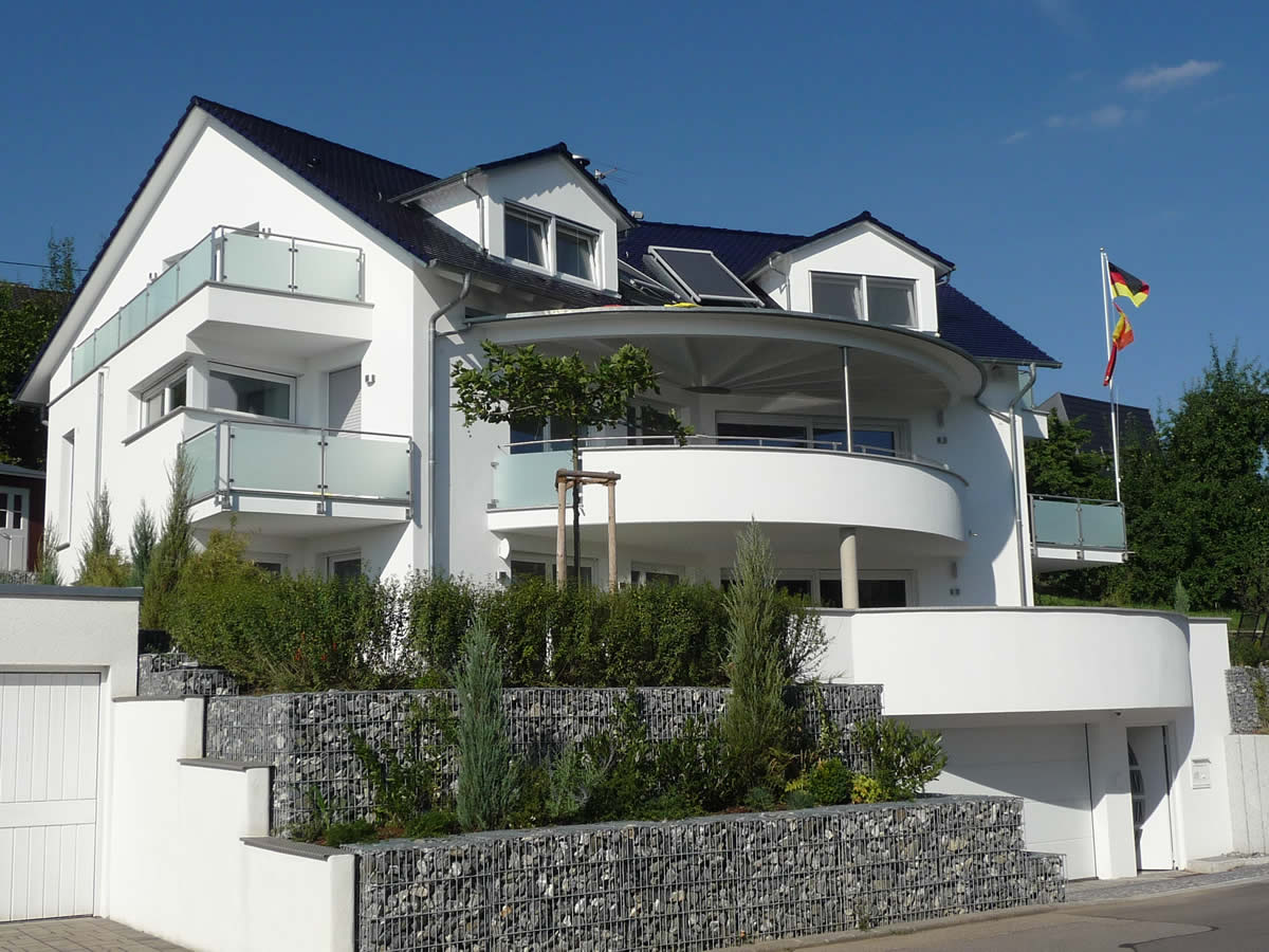 Neubau Einfamilienhaus mit Tiefgarage