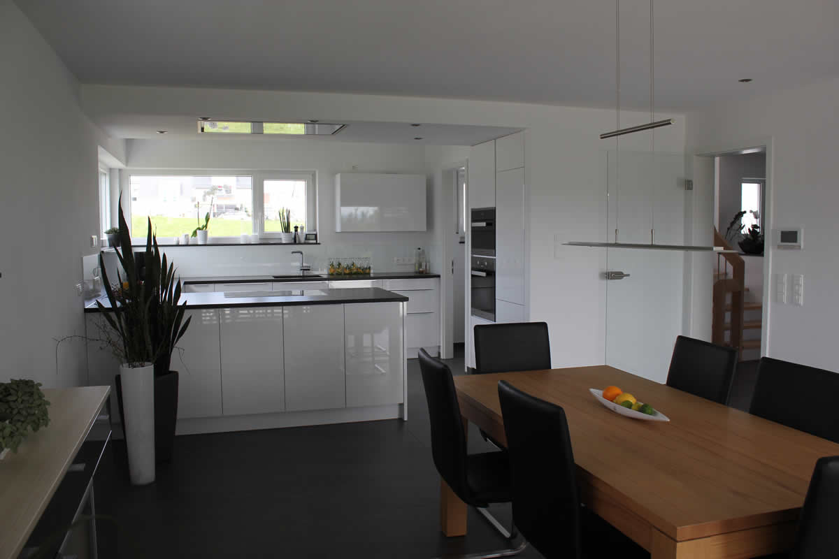 Einfamilienhaus neubau mit doppelgarage  Neubau eines Einfamilienhauses mit Doppelgarage - Architekt ...