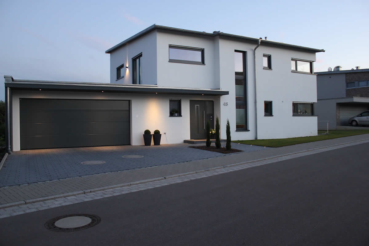 Einfamilienhaus Neubau Mit Doppelgarage